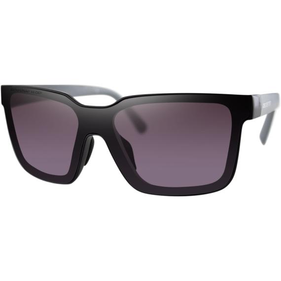 Bobster Boost Sunglasses - Matte Black Gray Temples