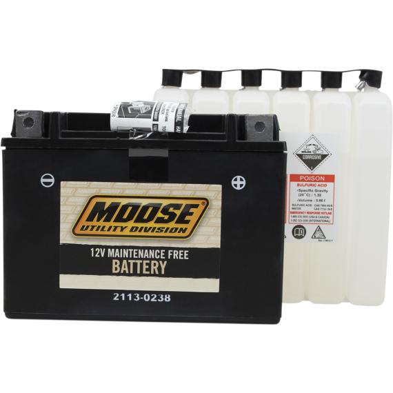 Moose Racing AGM Battery - YTX15L-BS