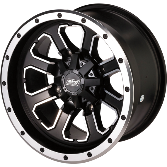 Moose Racing Wheel - 548M - 12X8 - 4/115 - 4+4