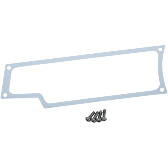 Moose Racing Dash Plate - Left - White - RZR