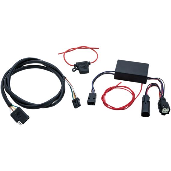 Kuryakyn 4-Wire Wiring Harness - FLH/FLT