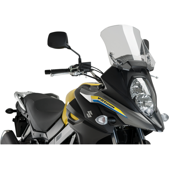 PUIG Protective Headlight Cover - Suzuki - Clear
