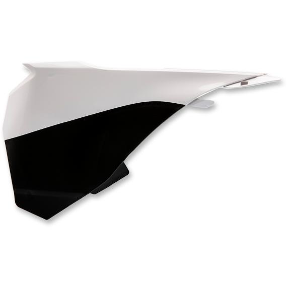 Acerbis Airbox Cover - SX 85 - White/Black