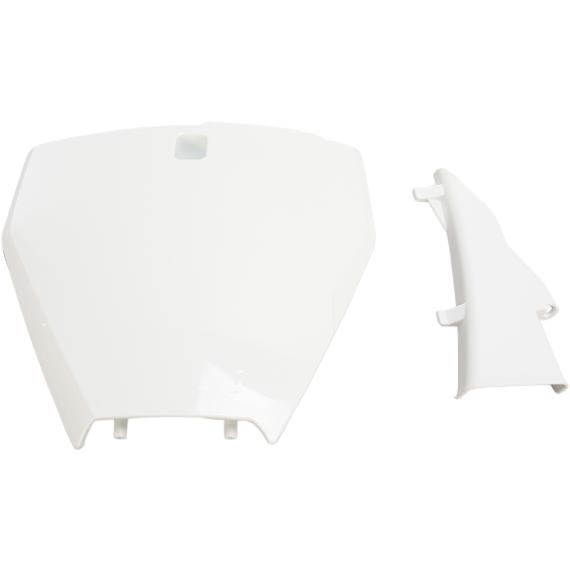 Acerbis Number Plate - Husqvarna - White