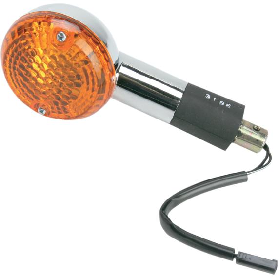 K and S Technologies Turn Signal - Suzuki - Amber - VL15 Rear