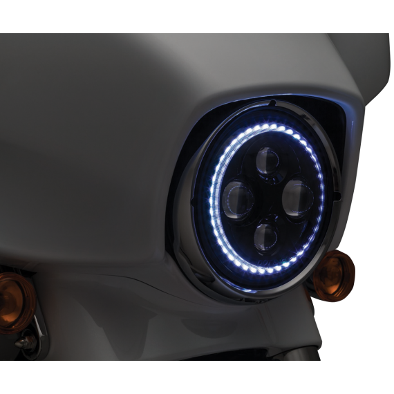 "Kuryakyn 7"" Headlamp with Halo"
