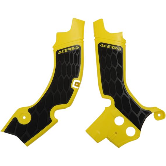 Acerbis X-Grip Frame Guards - RM-Z - Yellow/Black