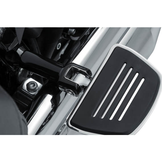 Kuryakyn Passenger Adapter - Chrome - Softail