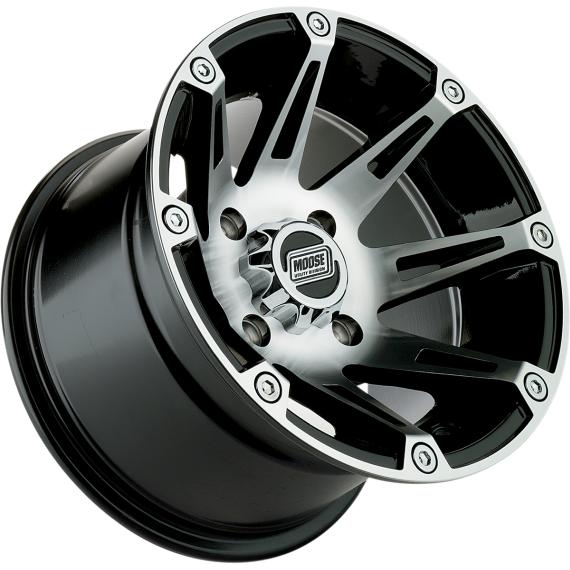 Moose Racing Wheel - 387M - 12X7 - 4/136 - 4+3