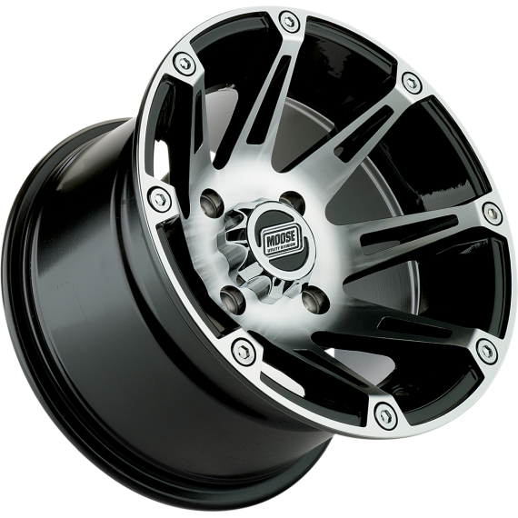 Moose Racing Wheel - 387M - 12X8 - 4/156 - 4+4