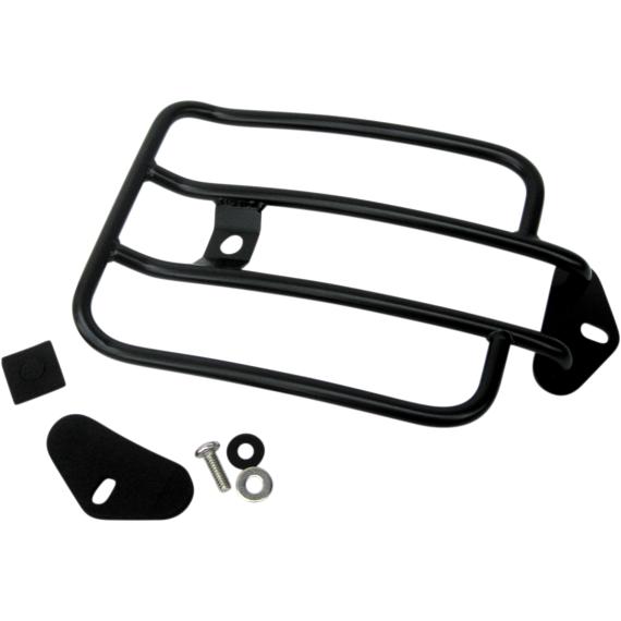 Motherwell Luggage Rack - Gloss Black - FXDL