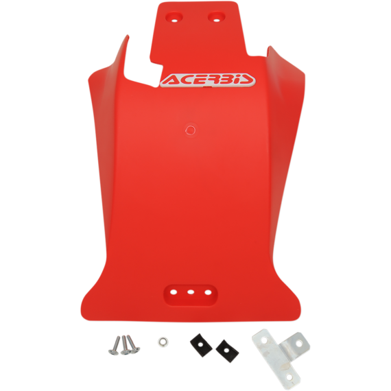 Acerbis Skid Plate - Beta - Red