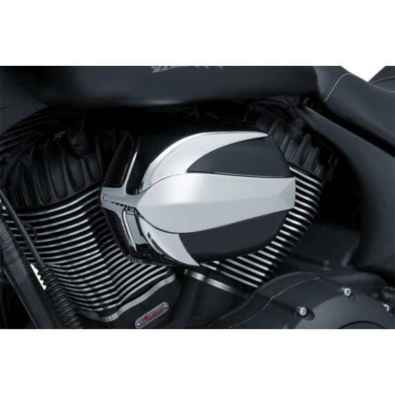Kuryakyn Air Cleaner Vantage Indian Chrome/Black