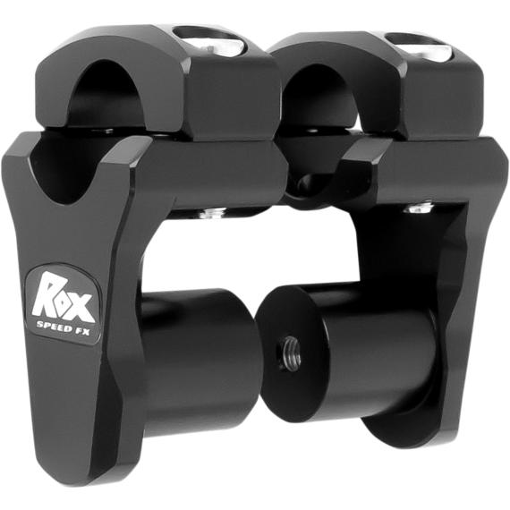 """Rox Speed FX Black 1-3/4"""" Pivoting Riser for 1-1/8"""" Handlebars"""