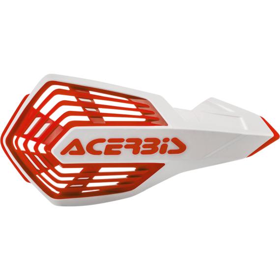 Acerbis White/Red X-Future Handguards