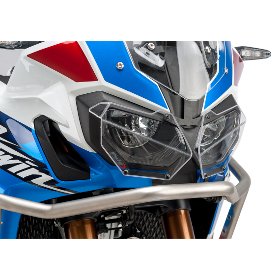PUIG Protective Headlight Cover - CRF1000L - Clear