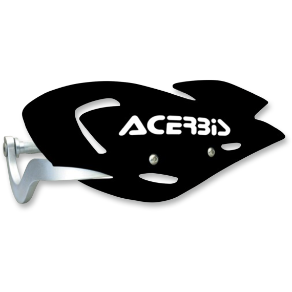 Acerbis Black Uniko Handguards for ATVs