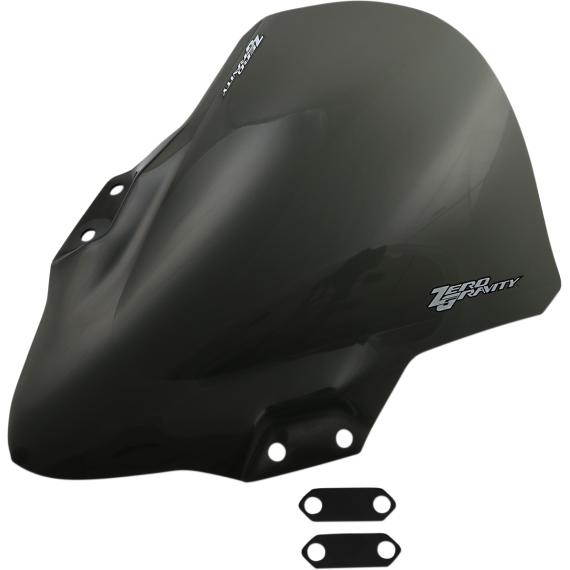Zero Gravity Corsa Windscreen - Smoke - Ninja 400