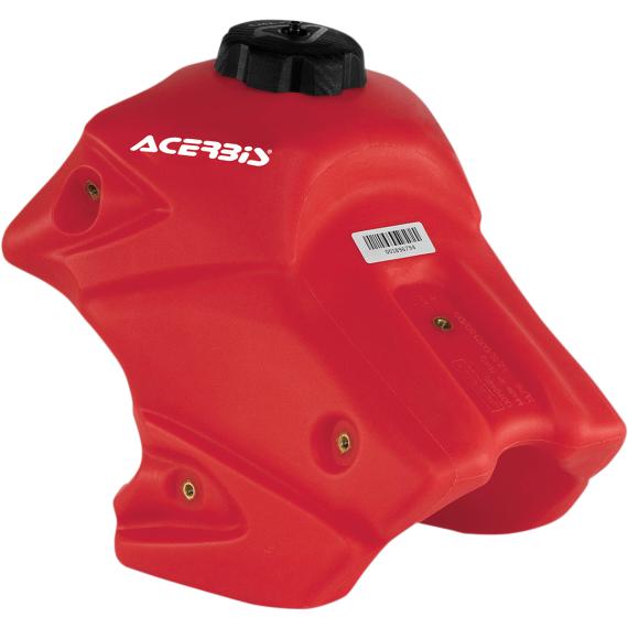 Acerbis Gas Tank - Red - 1.7 Gallon - Honda