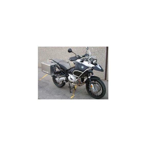 Happy Trails Products Aluminum Pannier Kit TETON BMW R1200GSA (Low Pipe)