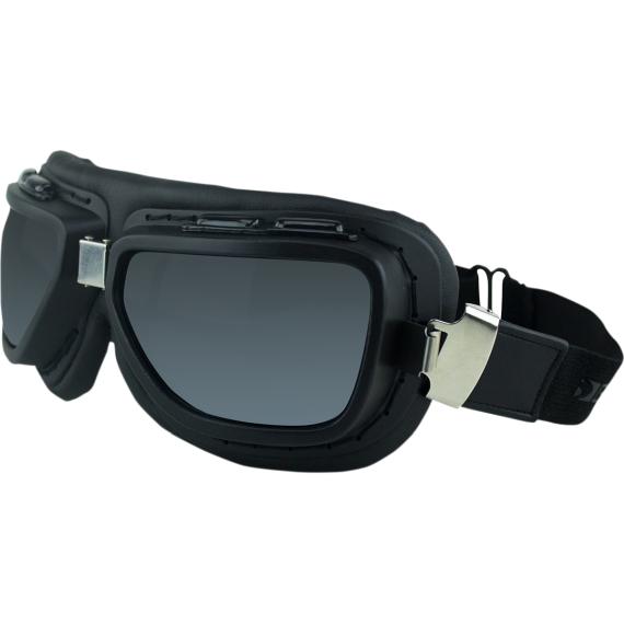 Bobster Pilot Goggles - Black - Interchangeable Lens