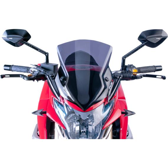 PUIG New Generation Windscreen - Dark Smoke - GSR750