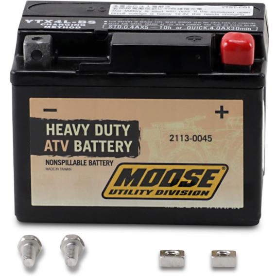 Moose Racing AGM Battery - YTX4L