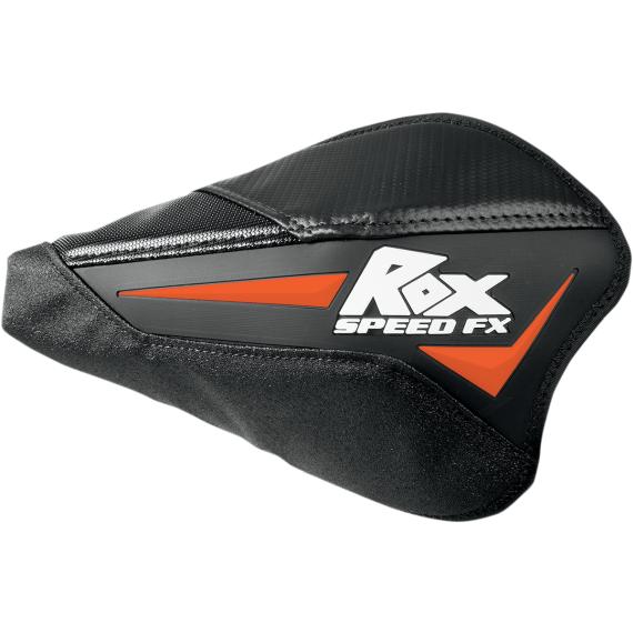 Rox Speed FX Orange/Black Flex Tec Handguards