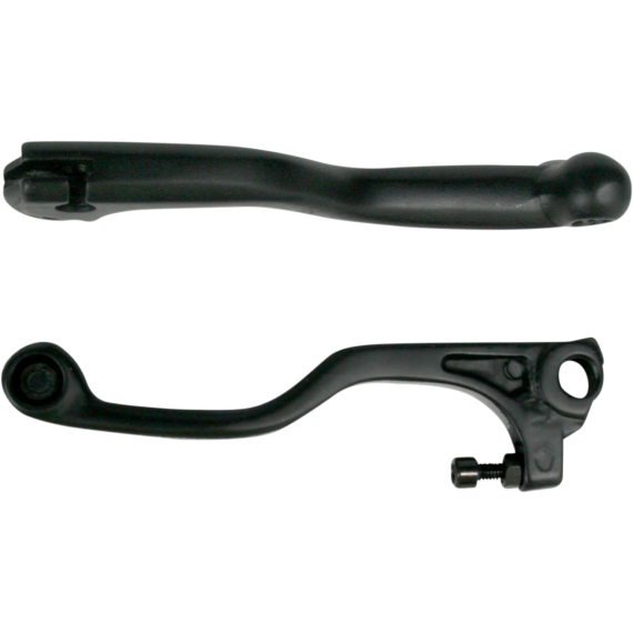 Parts Unlimited Black Shorty Lever for Kawasaki