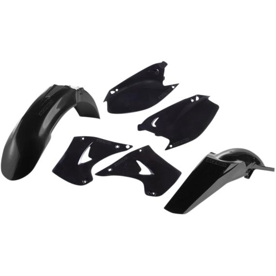 Acerbis Plastic Body Kit - Black - KX