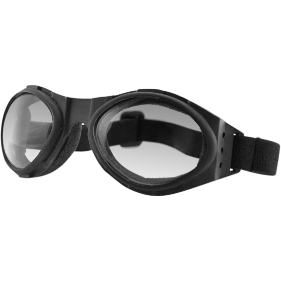 Bobster Bugeye 3 Goggles - Matte Black - Clear Photochromic