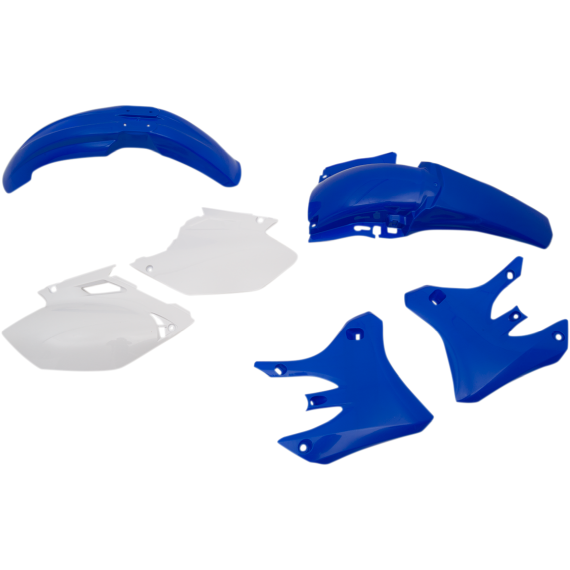 Acerbis Plastic Body Kit - '04 OE Blue/White - WR