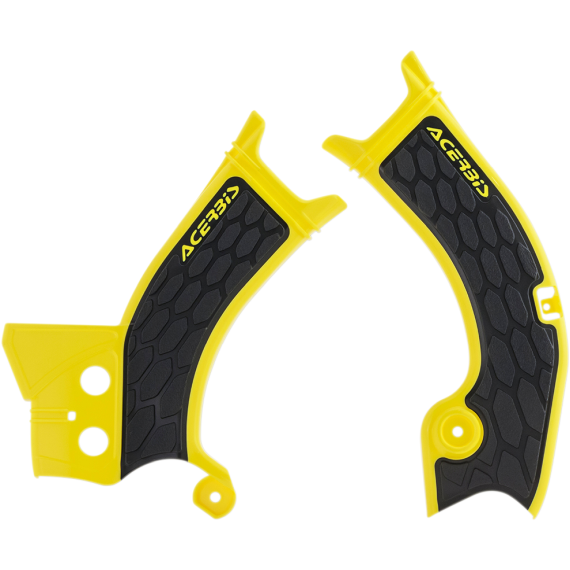 Acerbis X-Grip Frame Guards - RM-Z 450 - Yellow/Black