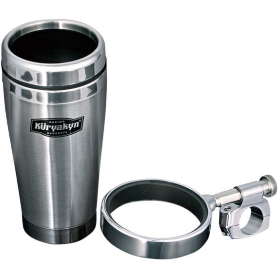 "Kuryakyn 1"" Drink Holder w/ Mug"