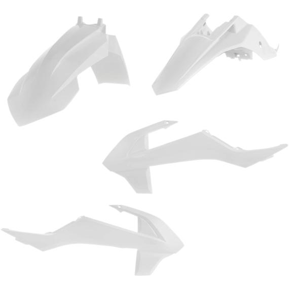 Acerbis Plastic Body Kit - White - SX65