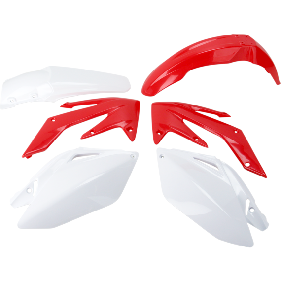 Acerbis Standard Replacement Plastic Body Kit - '09 OE Red/White