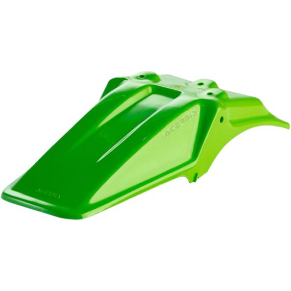 Acerbis Plastic Rear Fender - Green - KX60
