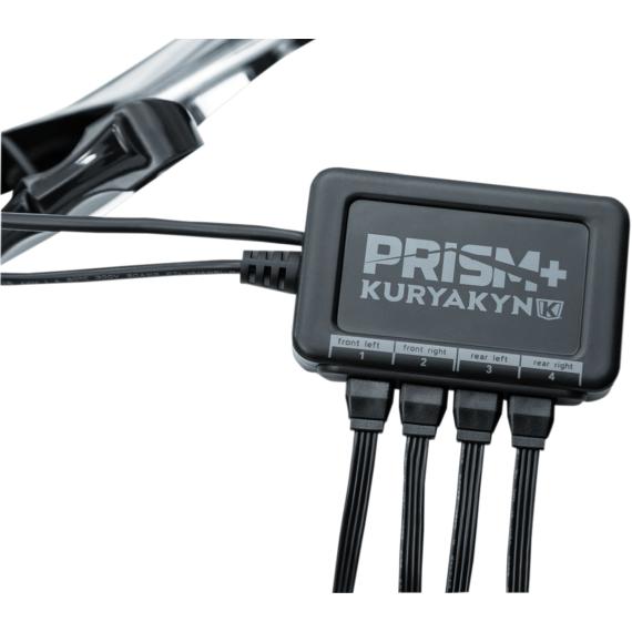 Kuryakyn Prism+ Impact L.E.D. Light Kit with Controller
