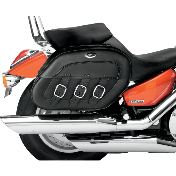 Saddlemen Drifter Rigid-Mount Specific-Fit Quick-Disconnect Saddlebags - Yamaha