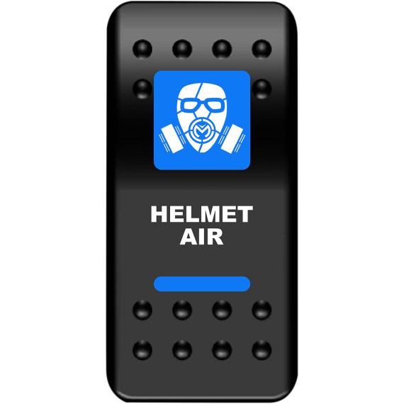 Moose Racing Rocker Switch - Helmet Air - Blue