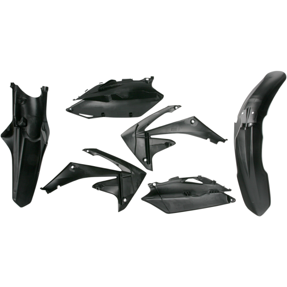 Acerbis Standard Replacement Plastic Body Kit - Black