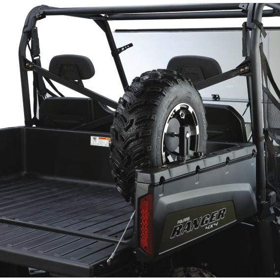 Moose Racing Spare Tire Mount - Polaris