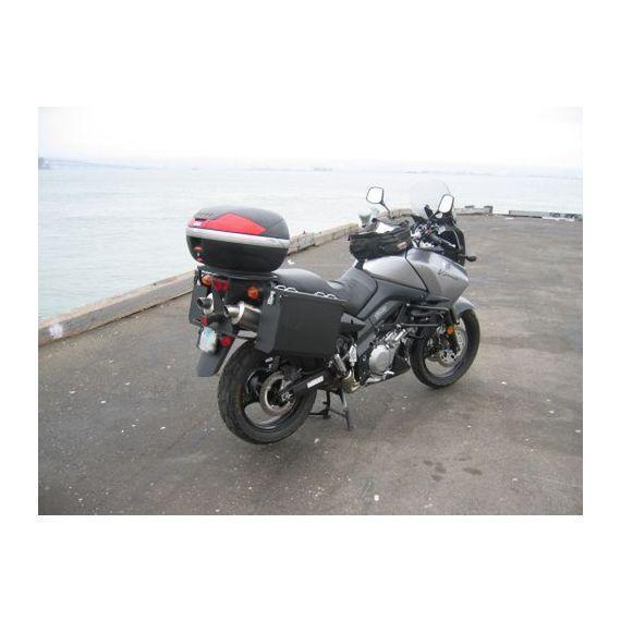 Happy Trails Products Aluminum Pannier Kit OWYHEE  Suzuki VStrom 1000