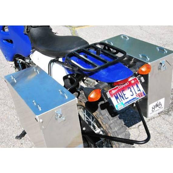 Happy Trails Products Aluminum Pannier Kit TETON - DRZ400S/SM