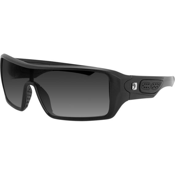 Bobster Paragon Sunglasses - Matte Black - Smoke