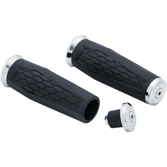 "Kuryakyn Chrome 1"" Hex Grips"