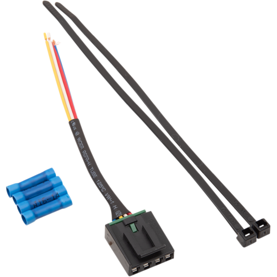 Moose Racing Four-Pin Ignition Switch Pigtail Harness - Polaris