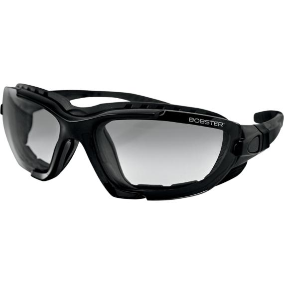 Bobster Renegade Convertible Sunglasses - Gloss Black