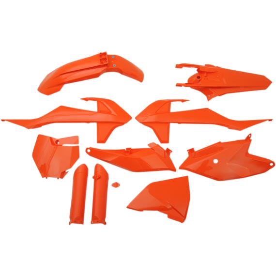 Acerbis Full Replacement Plastic Kit - Orange - SX85
