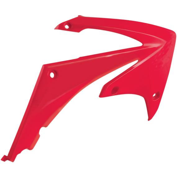 Acerbis Radiator Shrouds - CR 85 - Red
